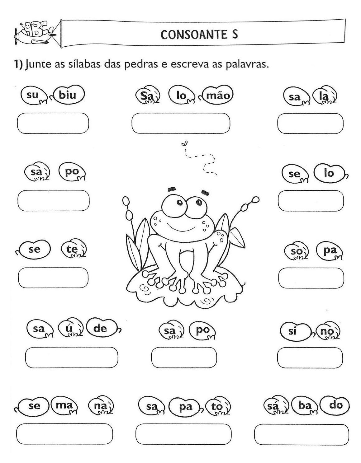 Blog Professor Zezinho 70 Atividades De Alfabetizacao
