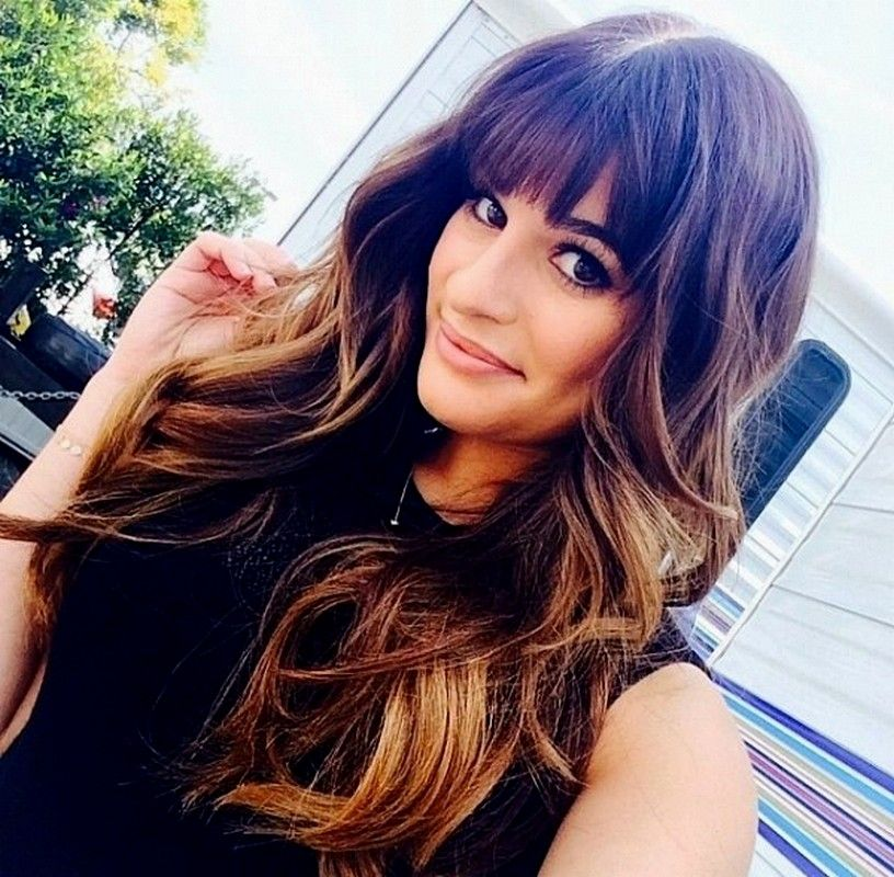 Hair Color Trends 2015 Winter Curly Hair Color with Bangs ...