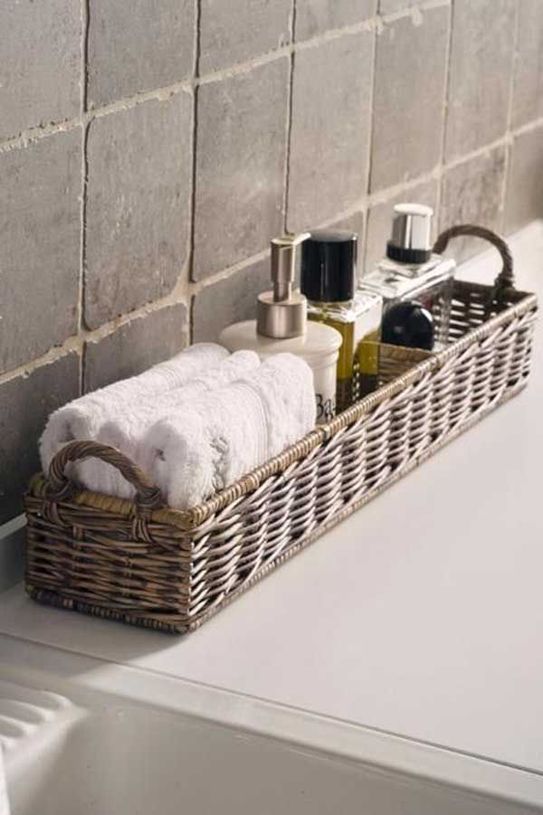 since baskets has the role of storage they cannot only be used to rh pinterest co uk small bathroom wicker baskets small bathroom laundry baskets