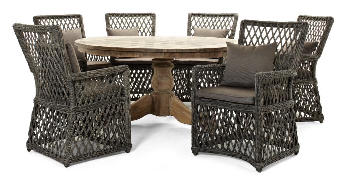 runda matbord utomhus