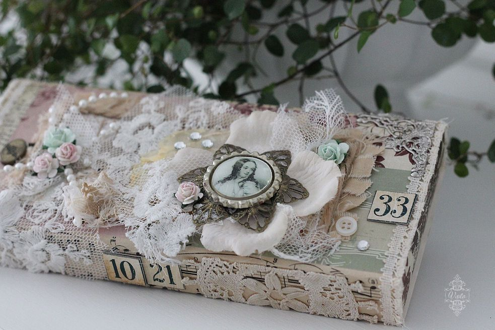 Shabby Chic Inspired: upcycled