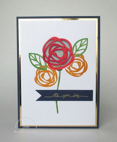 It's Your Day Card from the Paper and Ink Imaginings for the #EllenHutsonLLC…