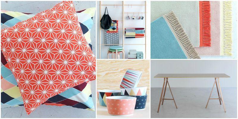 Begin februari komt Ikea met een limited edition lijn: Bråkig. Onze favorieten: de geometrische print op schaaltjes en kussens, het houten kledingrek, de koperen schragen en de verfrissende kleurtjes. Leuk voor de lente!