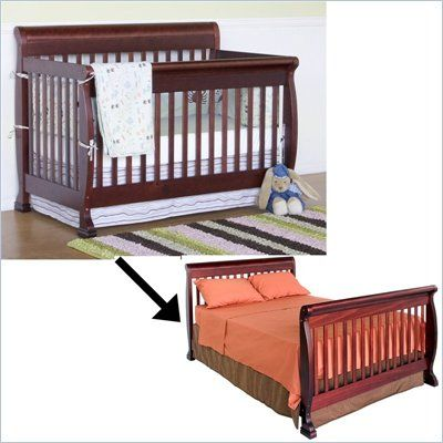 baby crib that turns into a bed for when they grow up Jurni