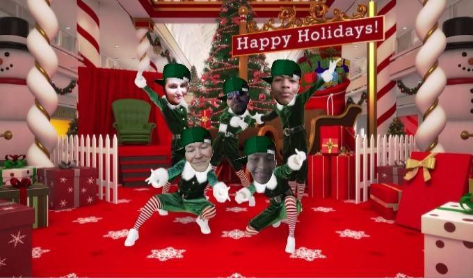 the best selling app of the christmas season is back with all new dances and new features - Christmas Elf Dance App