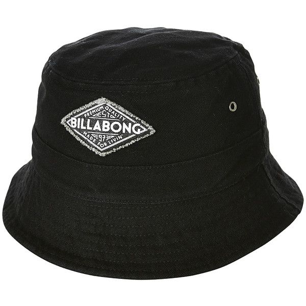 Billabong Essential Bucket Hat ( 22) ❤ liked on Polyvore featuring  accessories 047fceede19