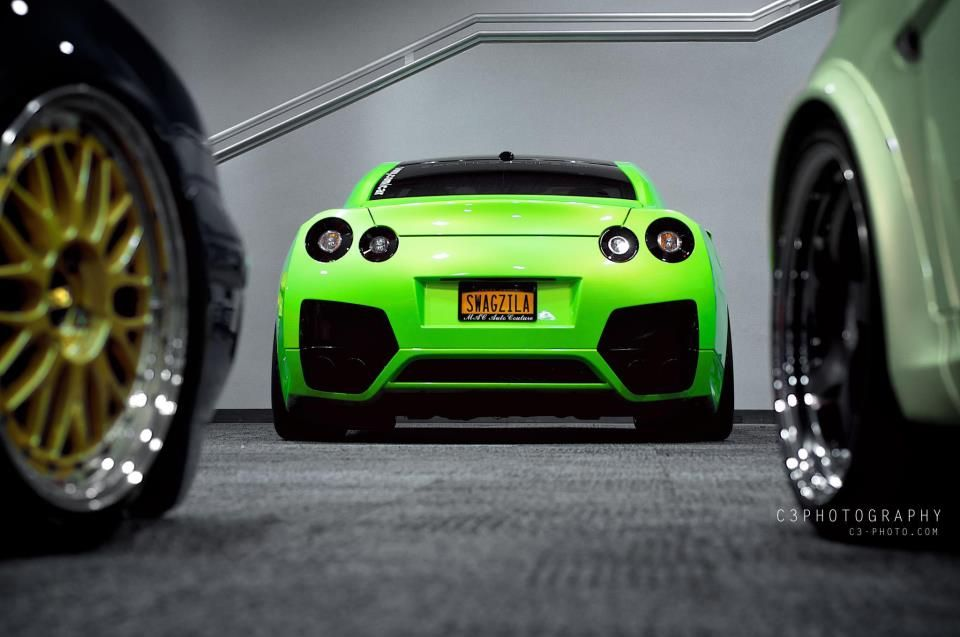 Nissan GTR. Check one out at Team Nissan in Manchester