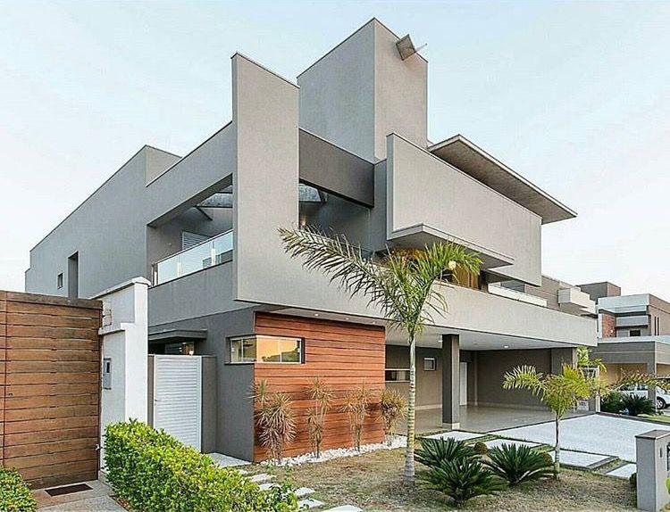 Pin de rammina maleki en facade pinterest fachadas - Casas modernas economicas ...