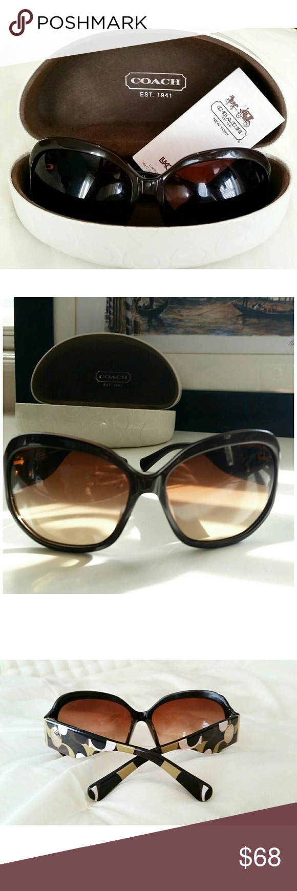 6aa3bbfbaf83c Coach Sunglases Coach Sunglases With Original Packaging