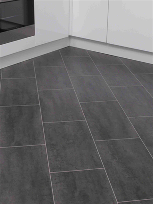 Black Laminate Tiles Like These But Considering Laying Tile Diagonally