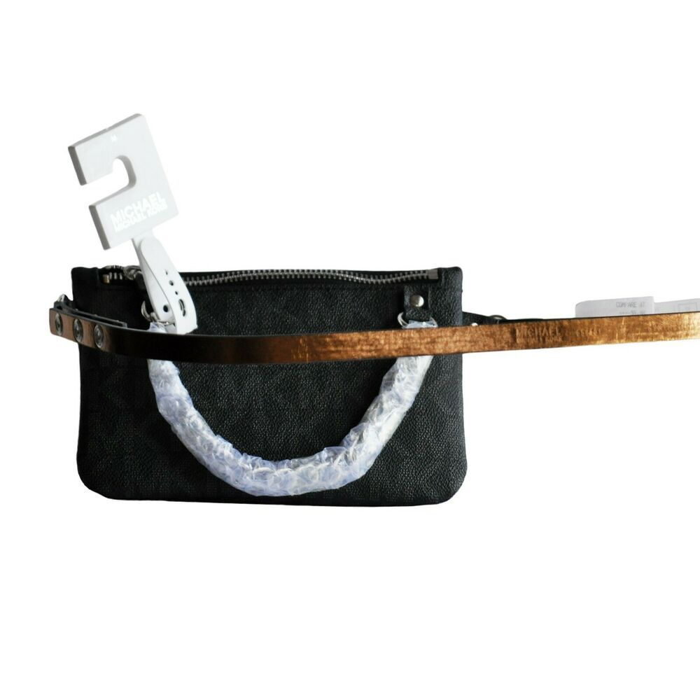 693a746b6d204d Michael Kors MK Signature Logo Belt Wallet Fanny Pack Waist Pouch Bag NWT # MichaelKors #BeltBag