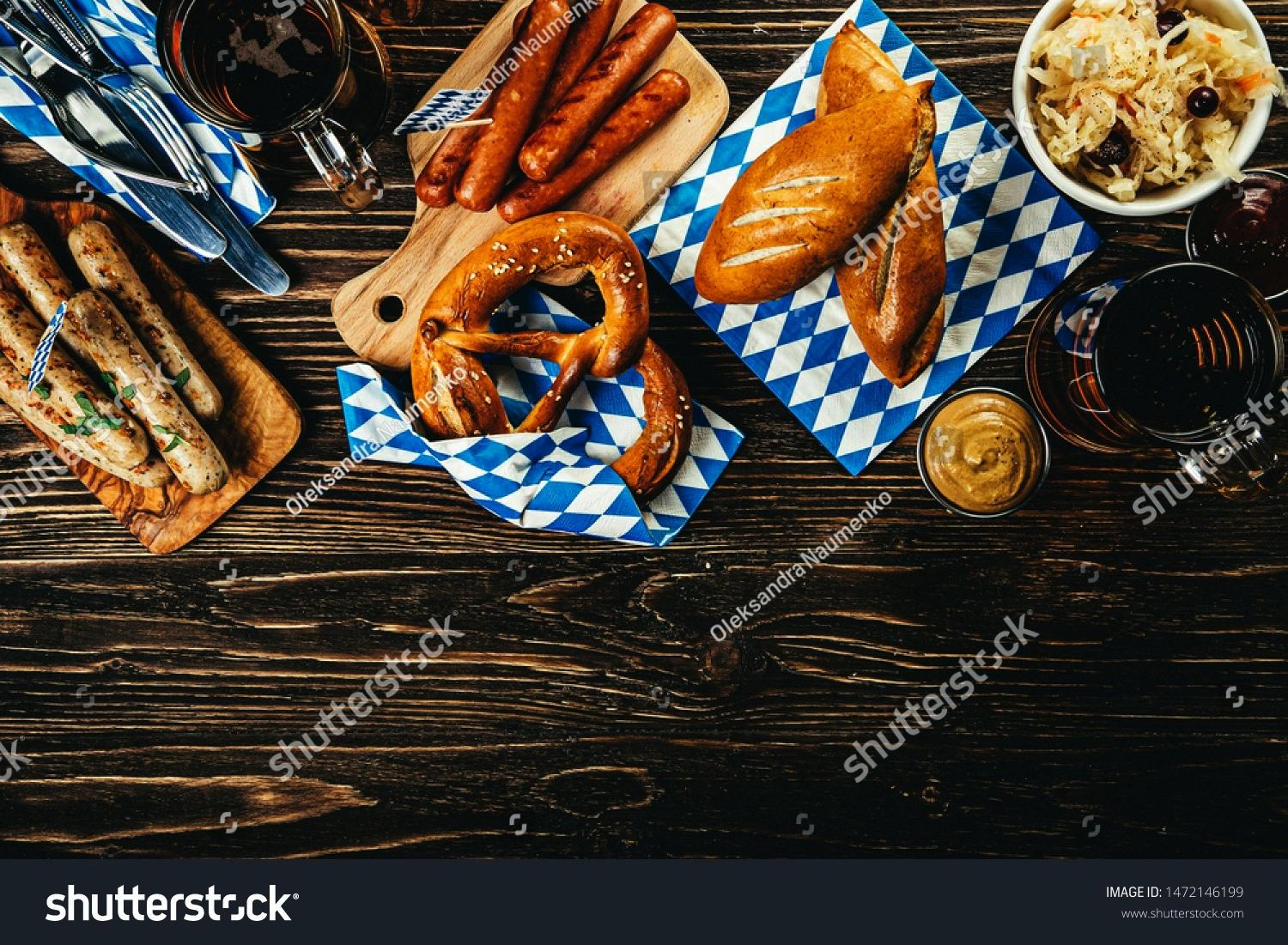 fest concept  traditional food and beer served at event wood background October fest concept  traditional food and beer served at event wood background  19 ideas for desi...
