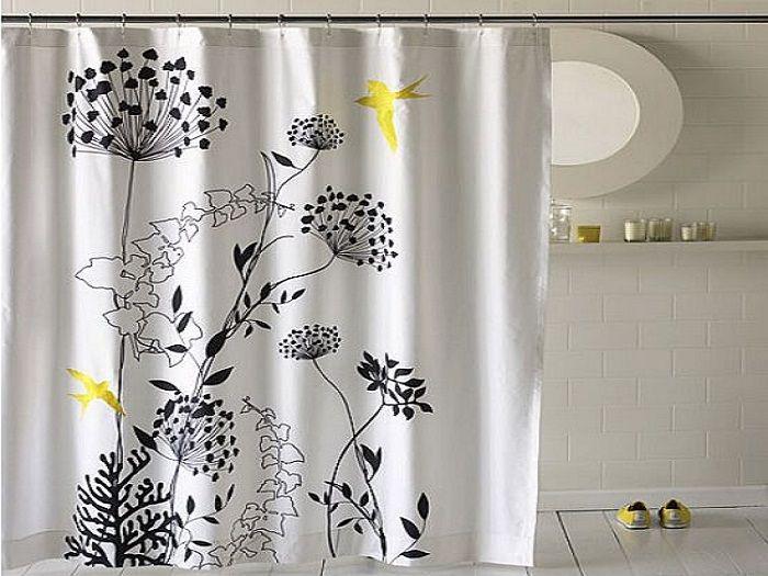 Modern Flower Bathroom Shower Curtains Ideas ~ http://lanewstalk.com ...