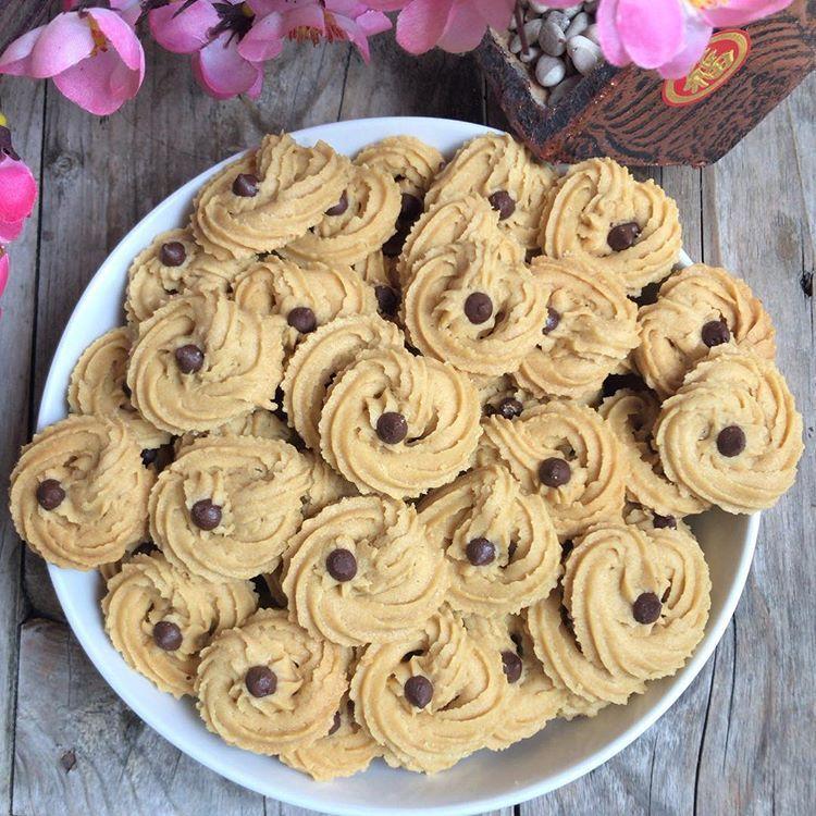 Coffee Cookies Renyah Khas Lebaran Dapat Anda Buat Di Rumah Dengan Mengikuti Resep Dan Cara Membuat Kue Kering Kopi Resep Biskuit Kue Kering Mentega Kue Kering