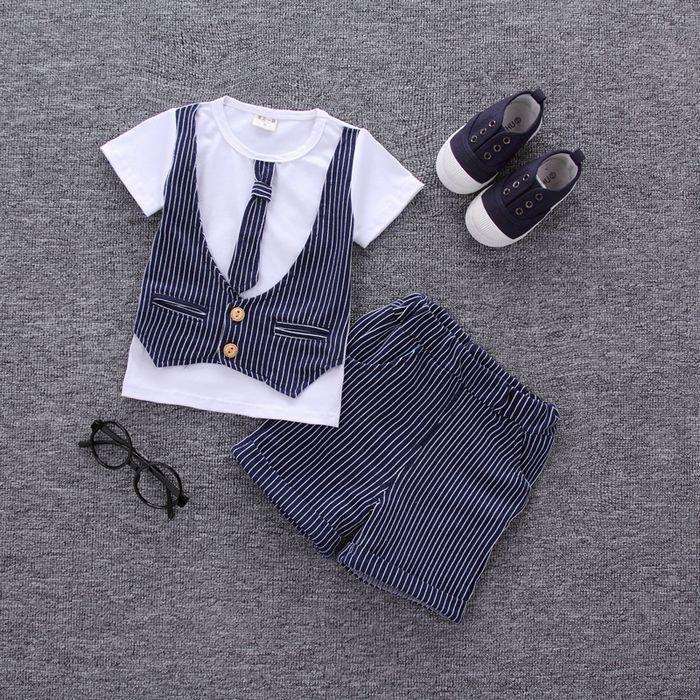 2f7d7f3d9 MANJI New baby boy clothes 2018 cotton material fashion design boys ...