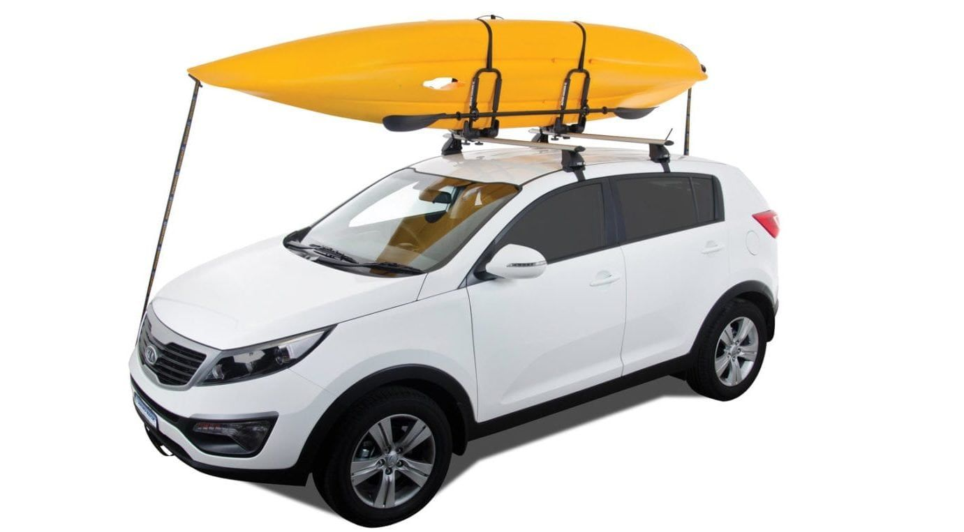 Selecting A Kayak Roof Rack For Cars Without Rails Kayak