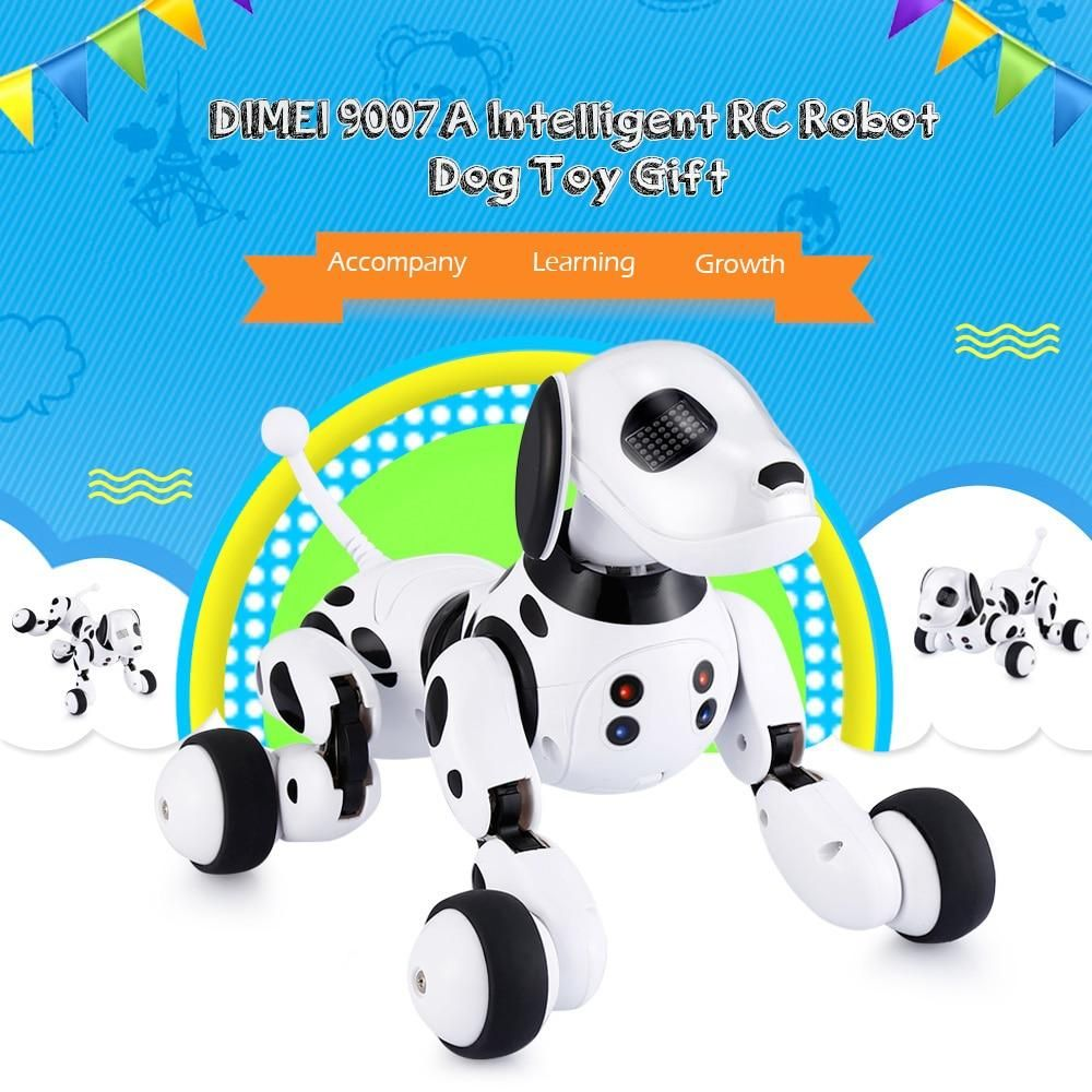 Dimei 9007a 2 4g Wireless Remote Control Smart Robot Dog Kids Toy