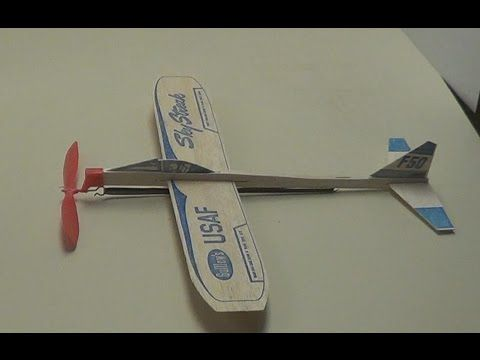 How To Make A Rubber Band Plane Out Of Paper