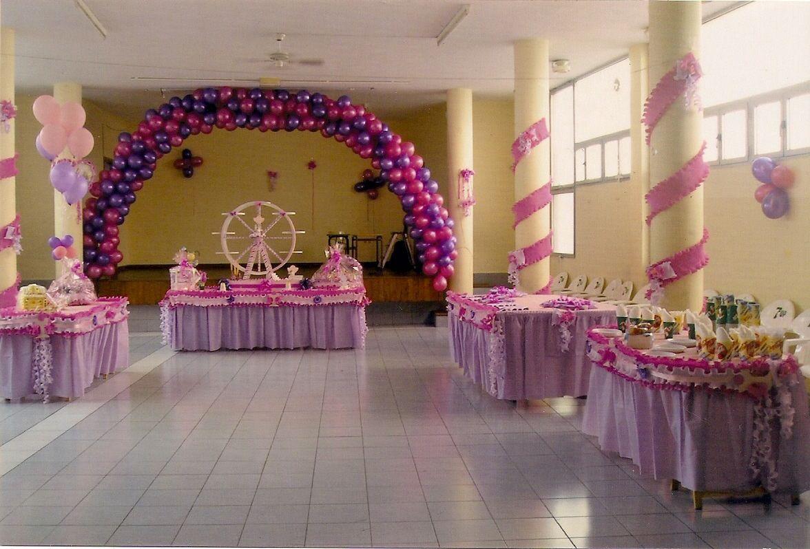 Decoración de Salones para Cumpleaños Infantiles  Salones de