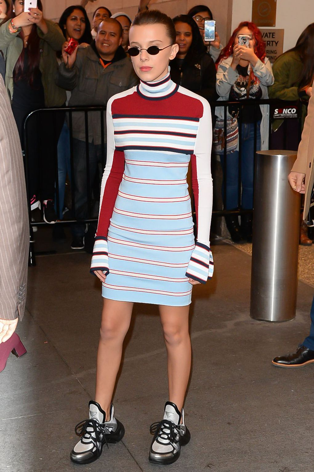 d0d84ca35e12 How Millie Bobby Brown Reinvented The Bodycon Dress Trend