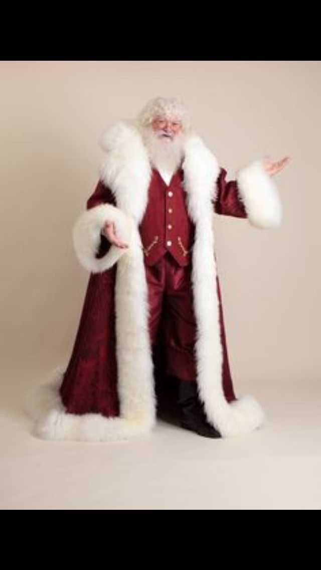 Pin By Hilton Osti Jacob On Claus Santa Claus Suit Santa Suits Victorian Santa