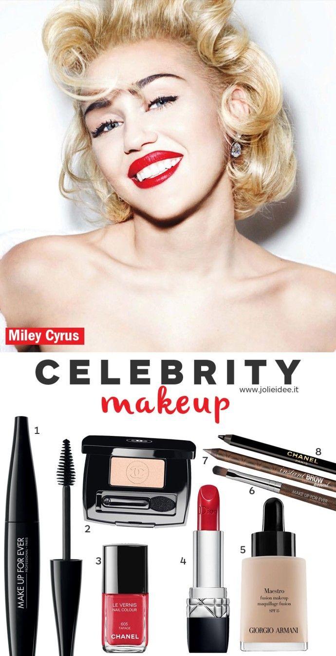 Miley cyrus vogue make up makeup tutorial jolieidee miley cyrus vogue make up makeup tutorial baditri Images