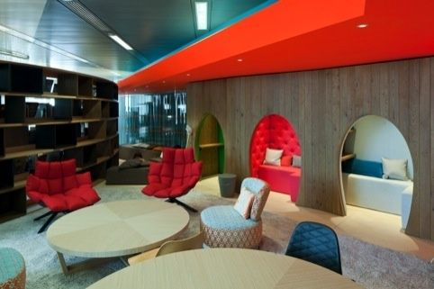 Google head office design by penson