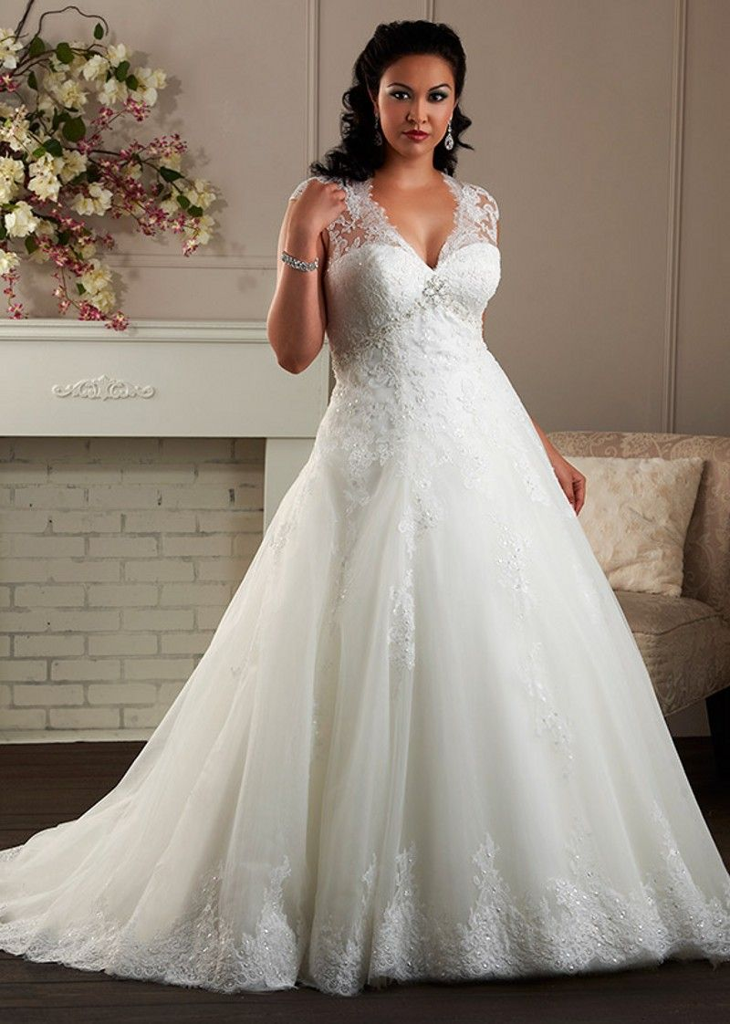 Plus size wedding dresses online uk