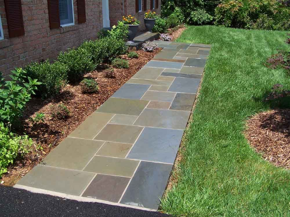 Paver Walkway Design Ideas 1000 ideas about stone walkways on pinterest walkway ideas walkways and backyard landscaping Love The Variation Of Colors In This Pathway Wonder If Thats Too Much Against My