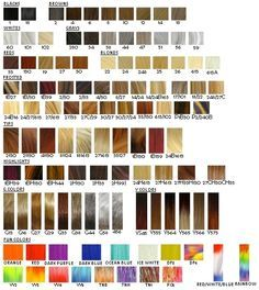 Image result for ion color brilliance chart hair dyed also rh pinterest