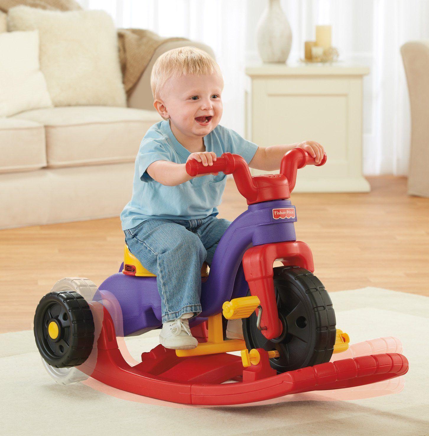 FisherPrice Kids, Toddlers Rock, Roll 'n Ride On Push