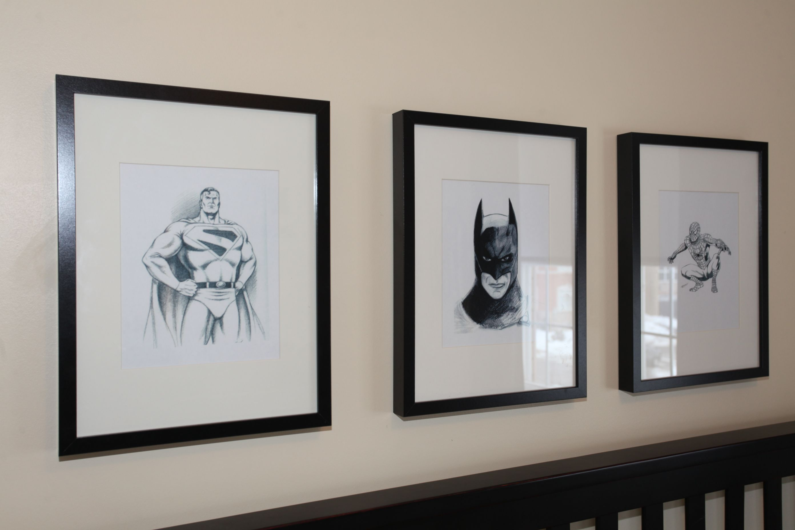 Marvel or video game sketches for wall art! | Future Home ...
