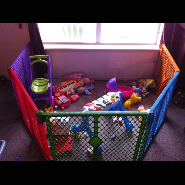 Superyard from Babies R Us. Great for a play area and for blocking ...