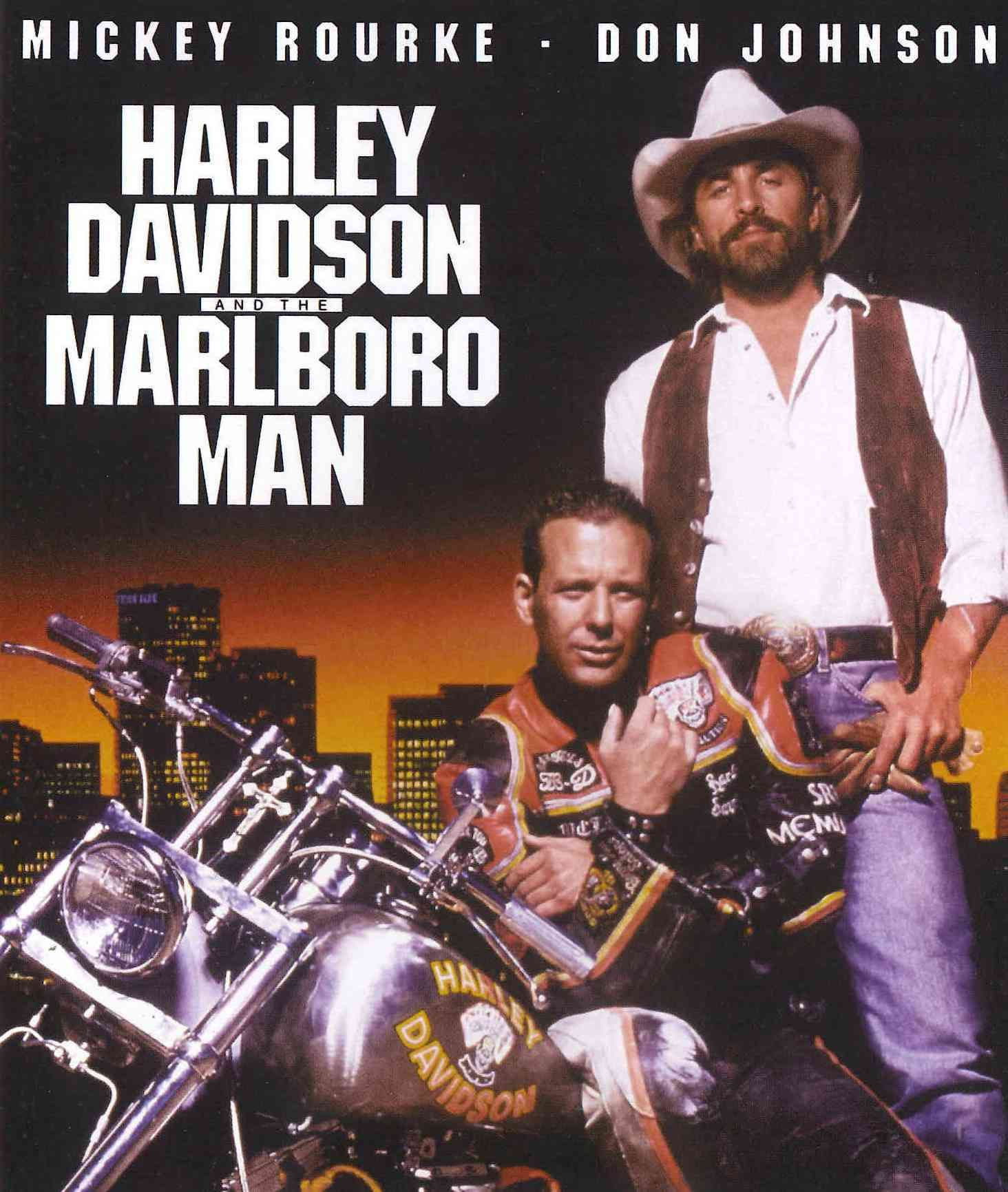 Harley Davidson And The Marlboro Man Marlboro Man Harley Davidson Mickey Rourke