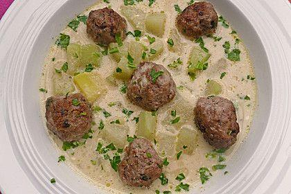 Kohlrabieintopf mit Kartoffeln und Rinderhackklößchen #spitzkohlrezeptehackfleisch