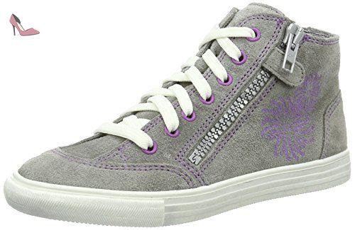 Richter Kinderschuhe Fedora, Sneakers Basses fille gris