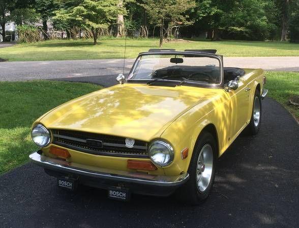 1973 Triumph TR6 - $8,999 East Louisville, KY #ForSale # ...