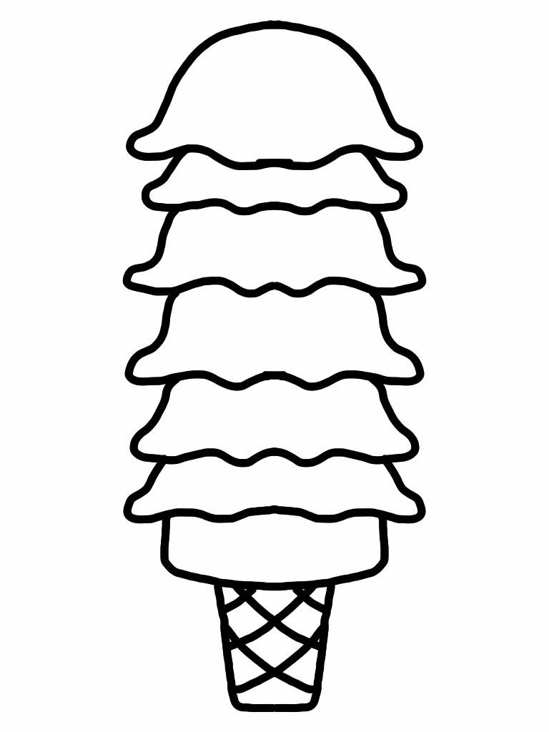 Coloring pictures of ice cream cones - Ice Cream Coloring Pages For Free Download Http Procoloring Com Ice