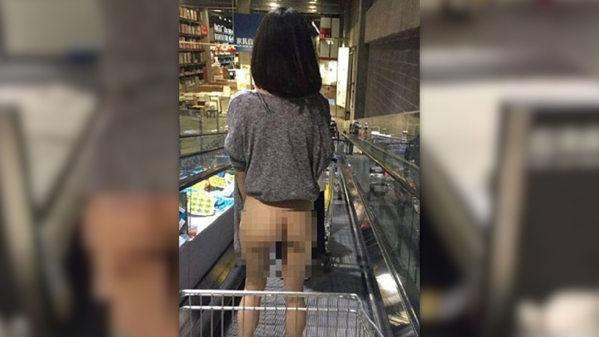 Una Mujer China Captada En Foto Mientras Compra En Ikea Desnuda Gj