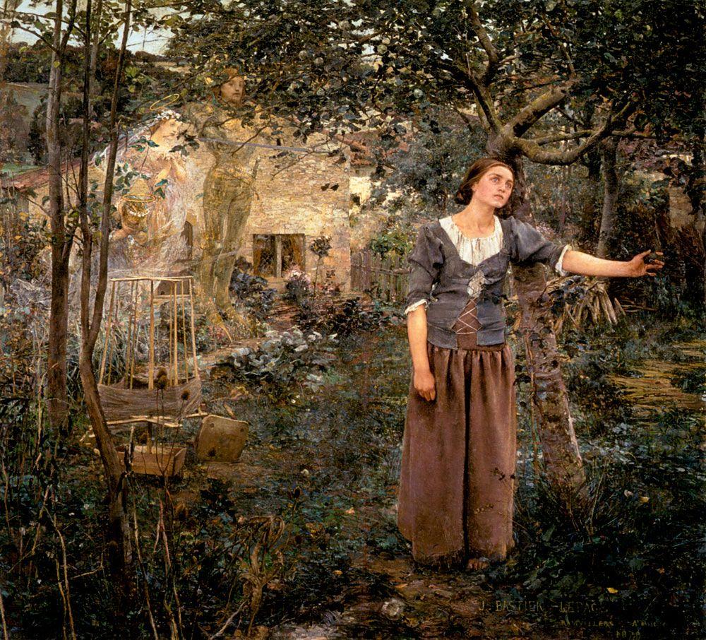 Jules Bastien-Lepage (1848-1884)Joan of Arc  Oil on canvas1879