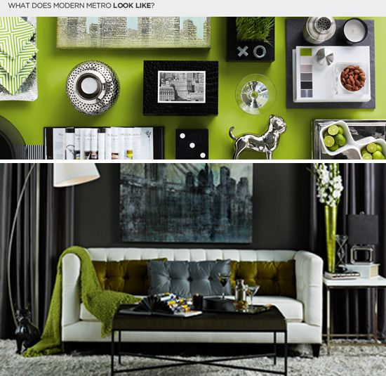 Charmant Decorating With Style} Modern Metro With A Touch Of Urban Funk ...  Apartment IdeasHouse Design