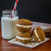 Carrot Cake Cookies | Pastured Kitchen