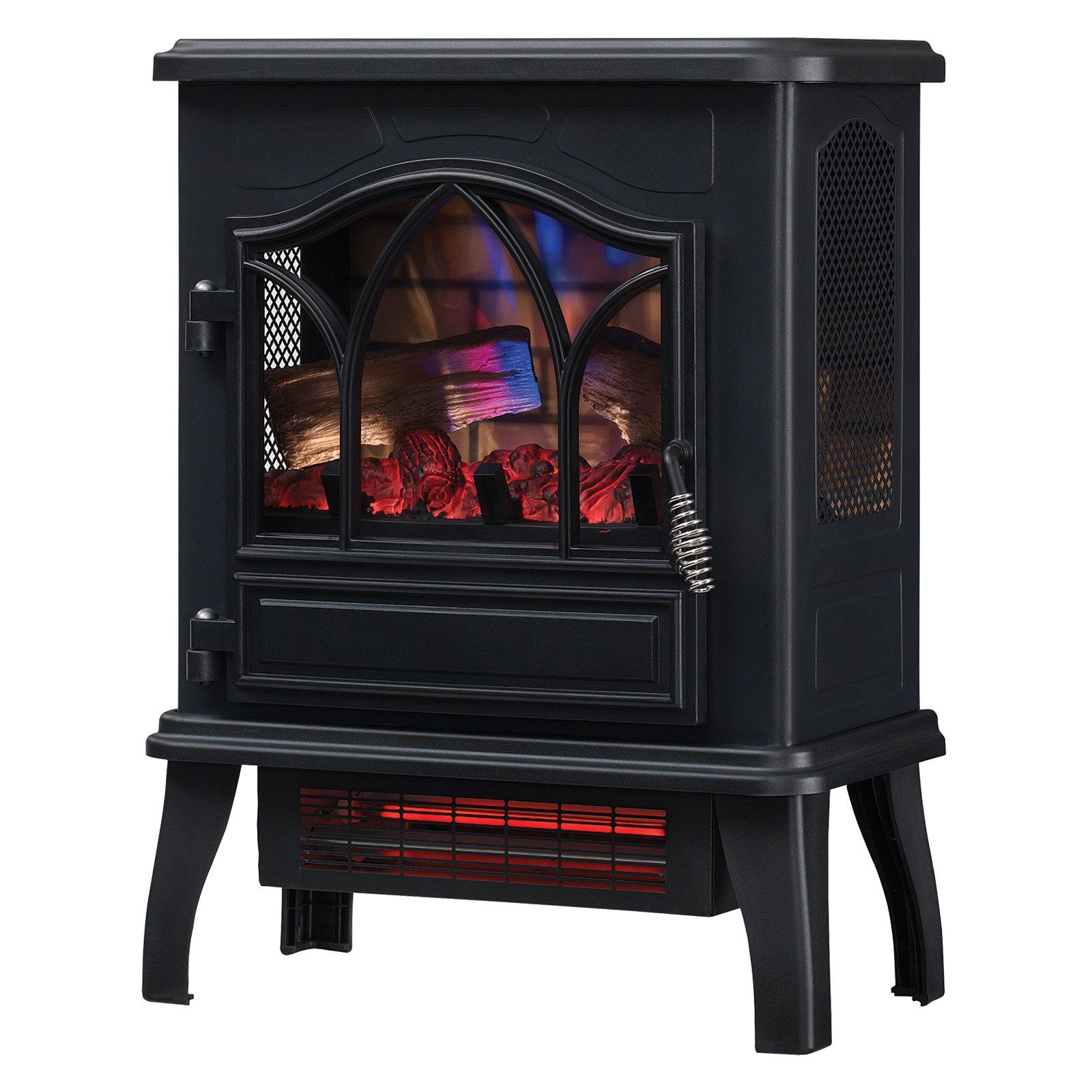 Duraflame 3d Infrared Quartz Electric Fireplace Stove Portable