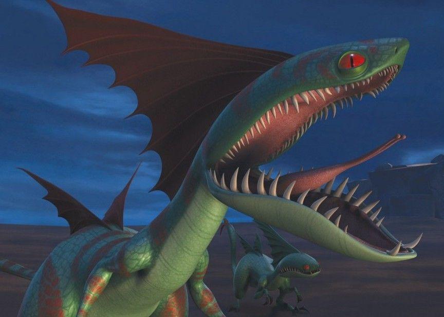 картинки как приручить дракона хвостокол
