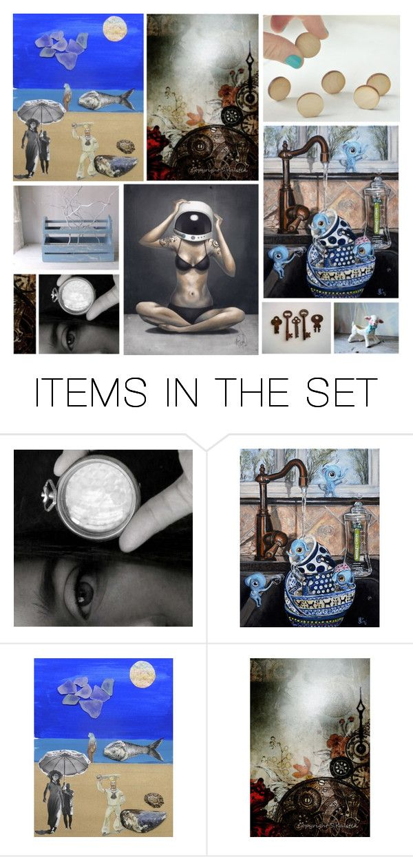 """""""I M A G I N A T I O N"""" by westernartglass ❤ liked on Polyvore featuring art"""