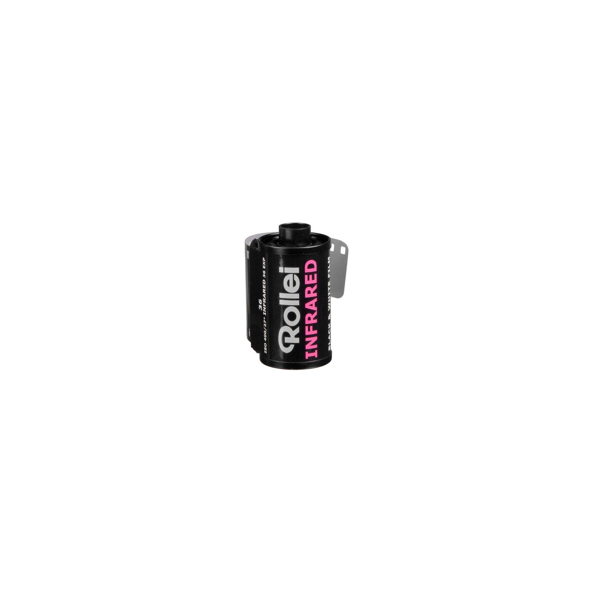 36 Exposure Rollei Infared 400 ISO Black /& White Film 35mm
