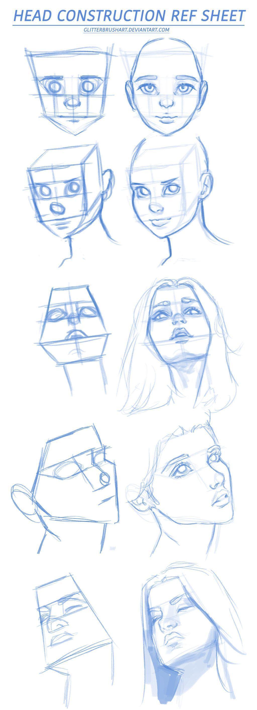 Comics And Cartoons Shapes Drawing Female Faces Head Shapes Drawing Female Comics And Cartoo In 2020 Drawing Tutorial Face Pencil Art Drawings Face Drawing