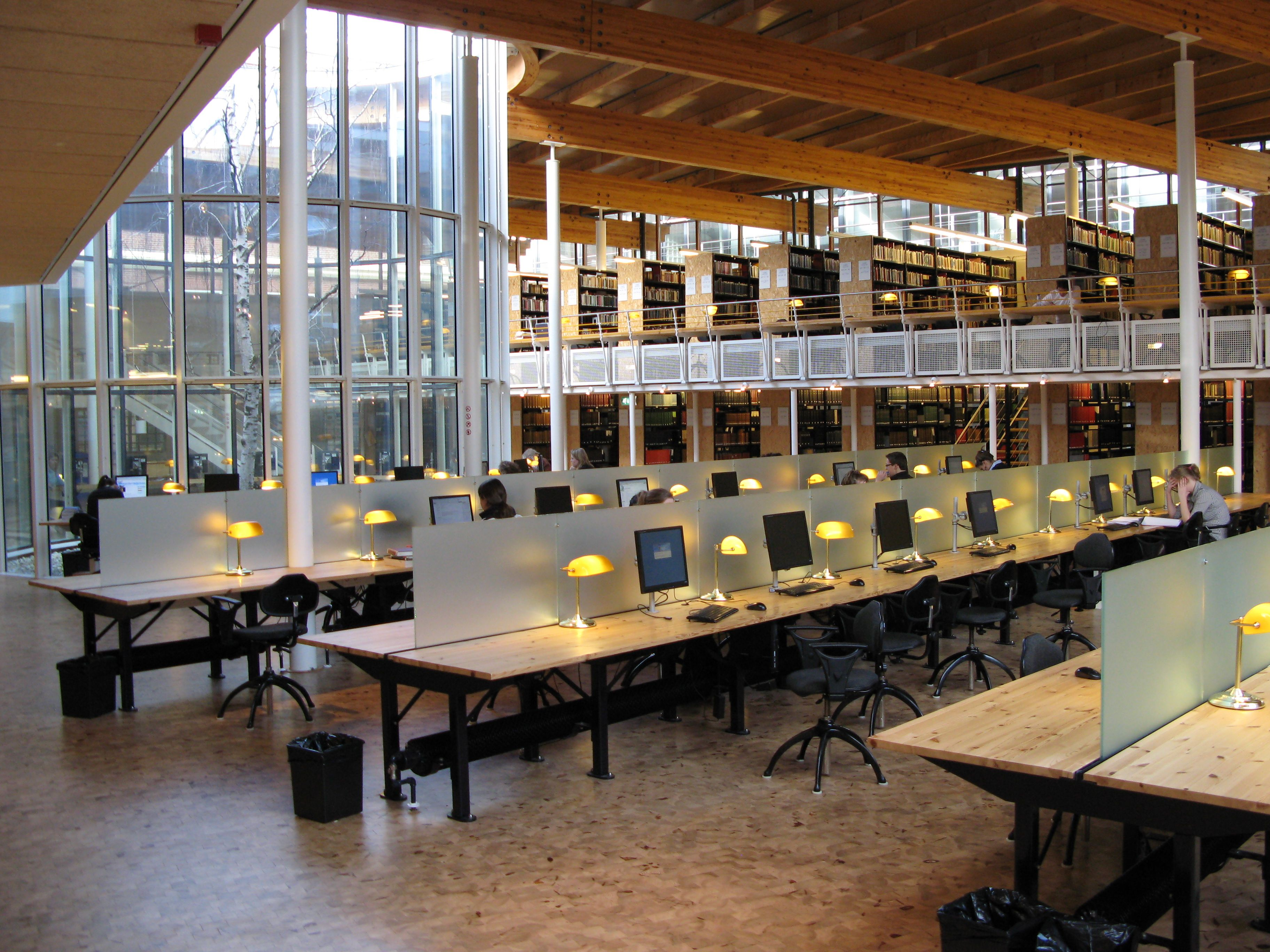 The library with lots of computer facilities Law library