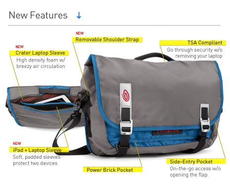 Command Laptop TSA-Friendly Messenger - Timbuk2 Bags