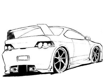Desenhos Para Pintar Com Imagens Carro Camaro Desenhos De Carros